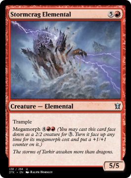 Stormcrag Elemental