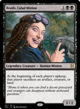 Braids, Cabal Minion