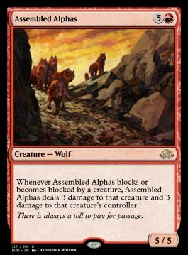 Assembled Alphas