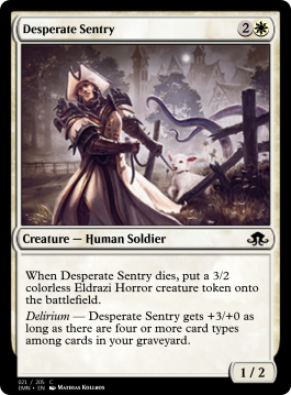 Desperate Sentry