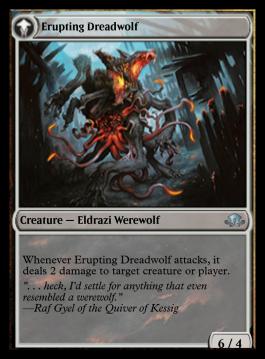 Erupting Dreadwolf