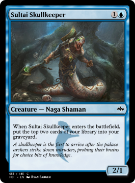 Sultai Skullkeeper