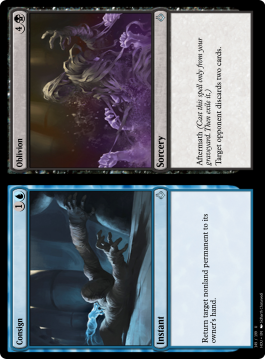 Consign/Oblivion