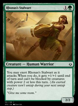 Rhonas's Stalwart