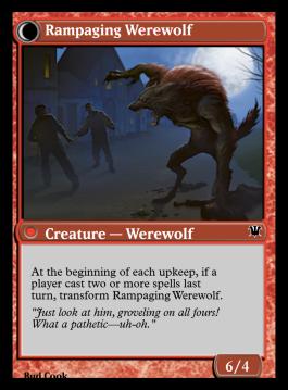 Rampaging Werewolf