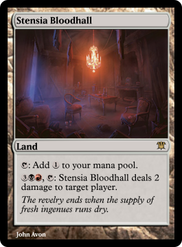 Stensia Bloodhall