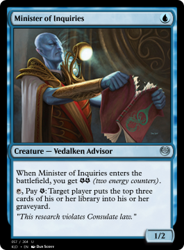 Minister of Inquiries