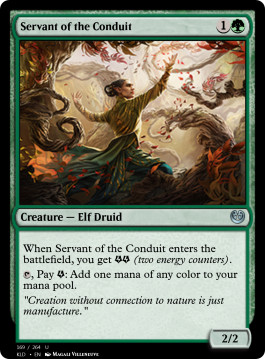 Servant of the Conduit