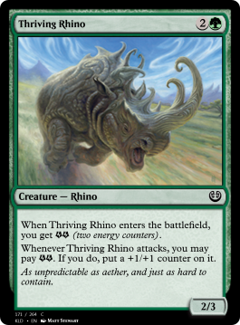 Thriving Rhino