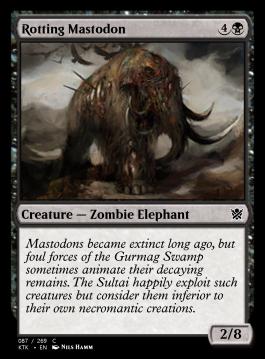 Rotting Mastodon