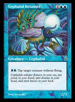 Cephalid Retainer