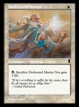 Dedicated Martyr