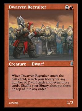 Dwarven Recruiter