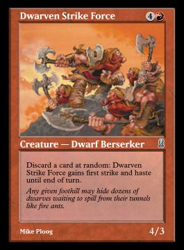 Dwarven Strike Force