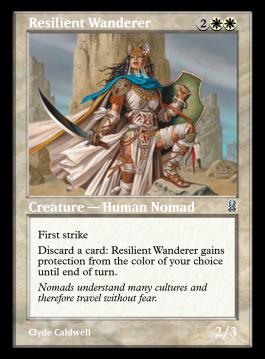 Resilient Wanderer