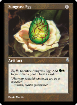 Sungrass Egg