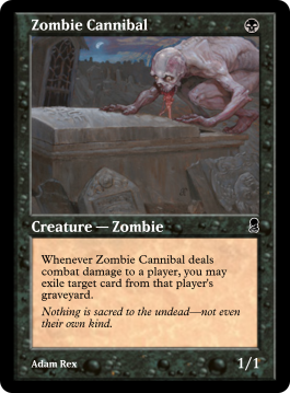 Zombie Cannibal