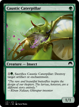 Caustic Caterpillar