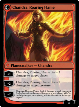 Chandra, Roaring Flame