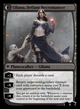 Liliana, Defiant Necromancer