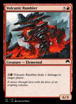 Volcanic Rambler