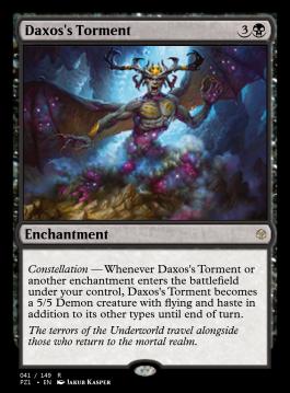 Daxos's Torment