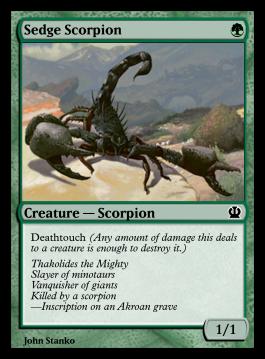 Sedge Scorpion
