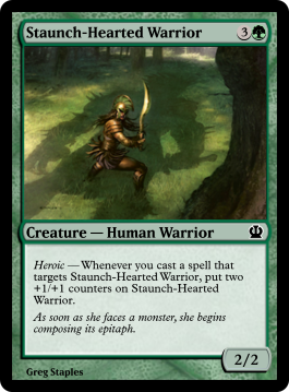 Staunch-Hearted Warrior