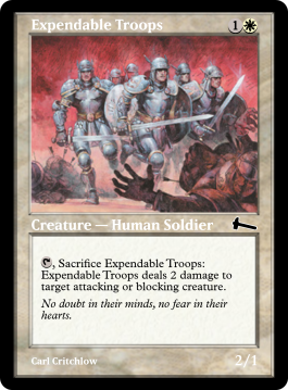 Expendable Troops