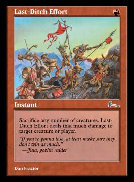 Last-Ditch Effort