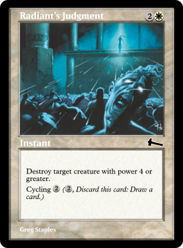Radiant's Judgment
