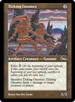 Ticking Gnomes