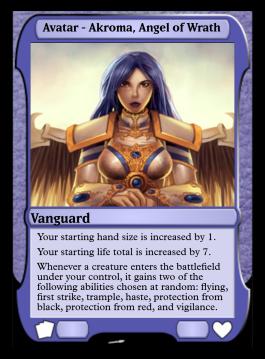 Avatar - Akroma, Angel of Wrath