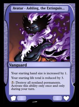Avatar - Ashling, the Extinguisher