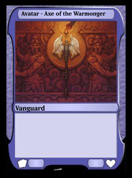 Avatar - Axe of the Warmonger