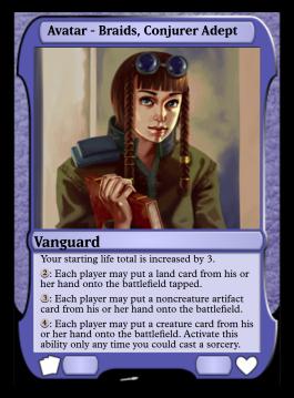 Avatar - Braids, Conjurer Adept