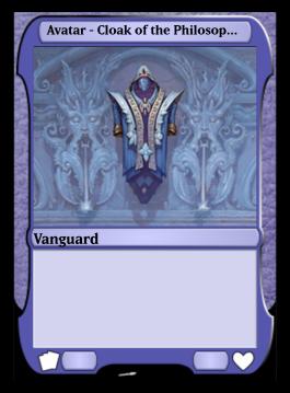 Avatar - Cloak of the Philosopher