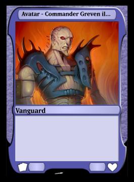 Avatar - Commander Greven il-Vec