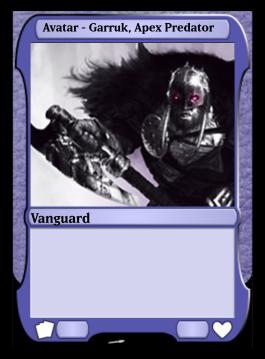 Avatar - Garruk, Apex Predator
