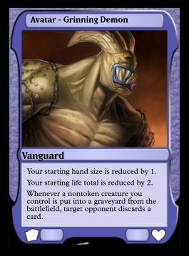 Avatar - Grinning Demon