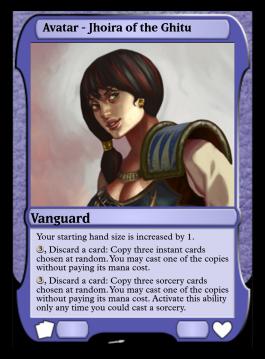 Avatar - Jhoira of the Ghitu