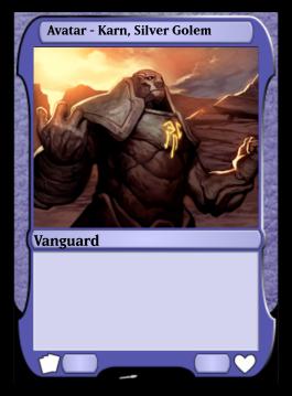 Avatar - Karn, Silver Golem