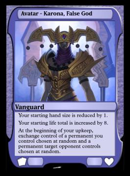 Avatar - Karona, False God