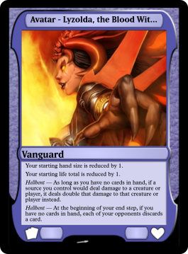Avatar - Lyzolda, the Blood Witch
