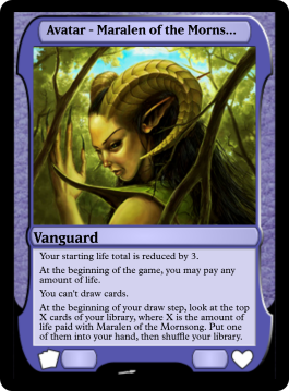 Avatar - Maralen of the Mornsong