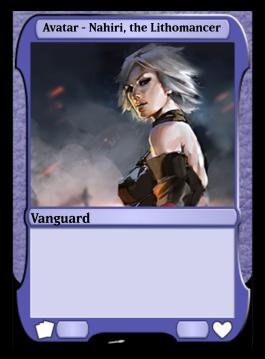 Avatar - Nahiri, the Lithomancer