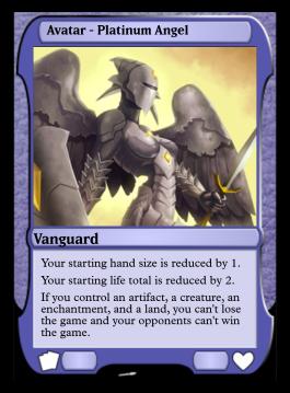 Avatar - Platinum Angel
