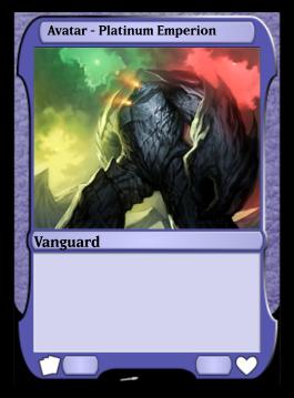 Avatar - Platinum Emperion