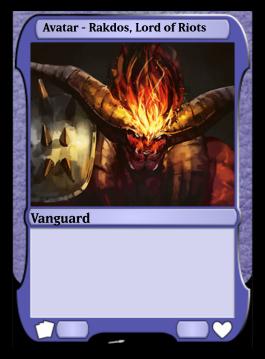 Avatar - Rakdos, Lord of Riots