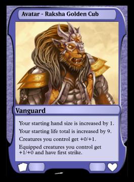 Avatar - Raksha Golden Cub